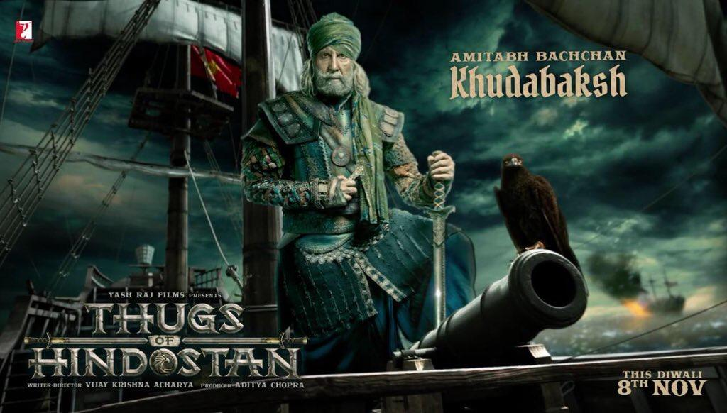 Thugs of Hindostan HD Poster Still Images Wiki Details